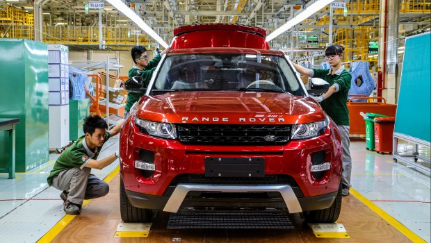 Jaguar Land Rover, Range Rover Evoque, car manufacturing