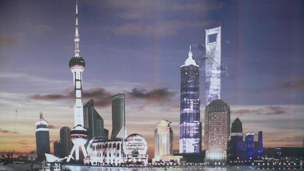 china dl shanghai real estate skyscraper