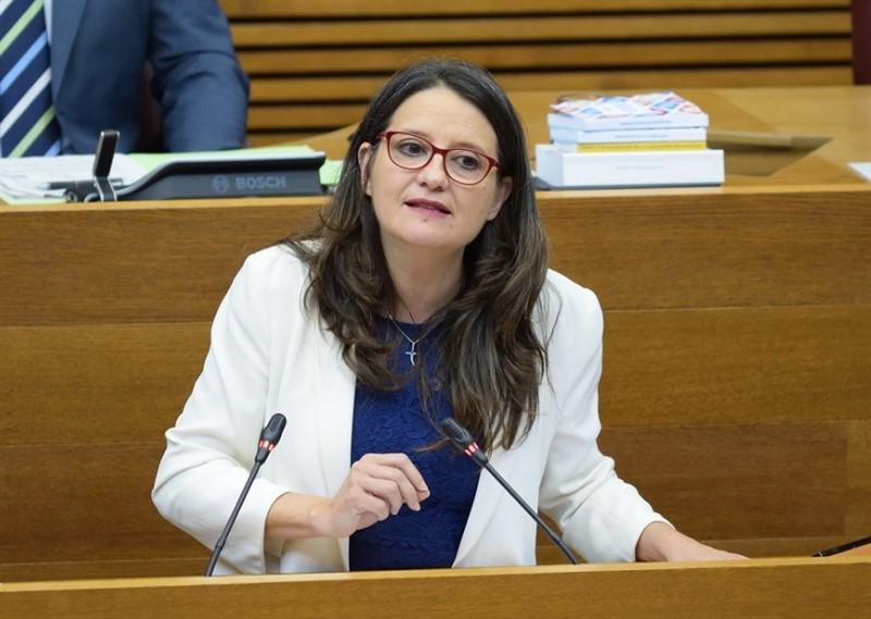 ep la vicepresidenta del consell y representante de compromis monica oltra en una imagen reciente