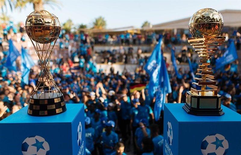 ep trofeos para el ganador masculino y femenino de la danone nations cup