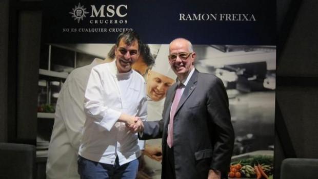 Econom a empresas msc cruceros incorporar a ram n for Equipo para chef